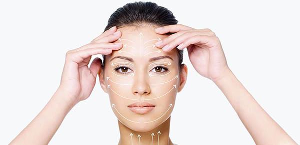 Массаж кожи лица