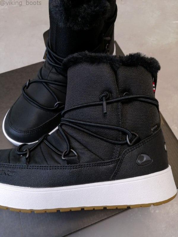 Купить сапоги Snofnugg GTX в черном цвете (сезон 2020-2021) в интернет-магазине Viking-Boots можно с доставкой и примеркой