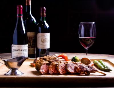 красное вино с жирным мясом