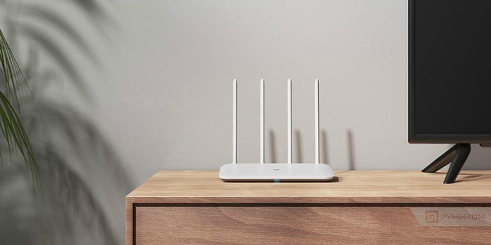 Роутер Xiaomi Mi Wi-Fi Router 4 (белый/white, xiaomi)