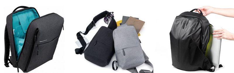 Сумки и рюкзаки Xiaomi