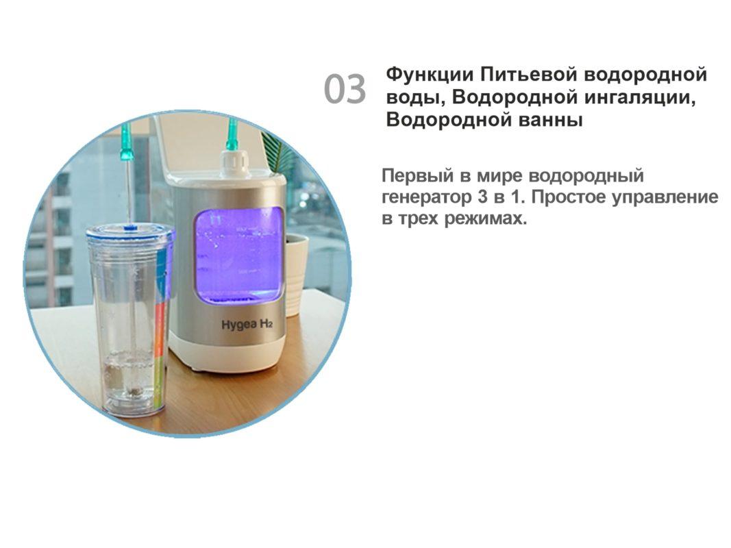 Водородный ингалятор Hygea H2