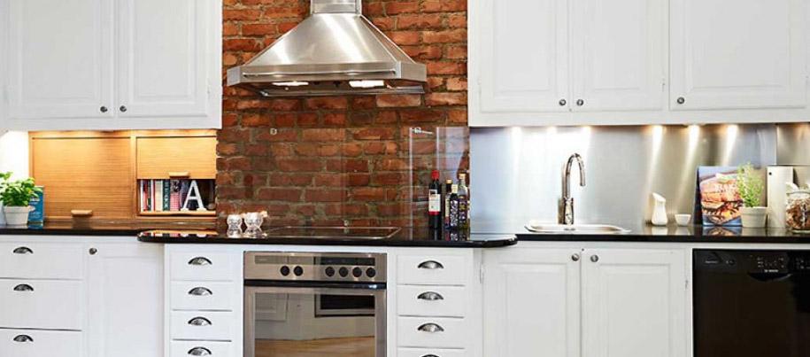 Защитное стекло для фартука кухни