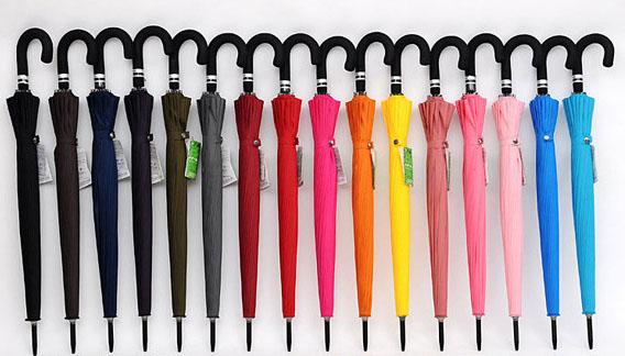 Зонт трость черный | ZC Mabu