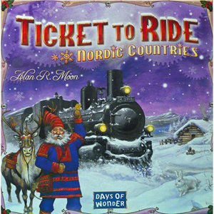 Ticket to Ride: Nordic Countries коробка