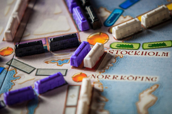 Ticket to Ride: Nordic Countries поле игры