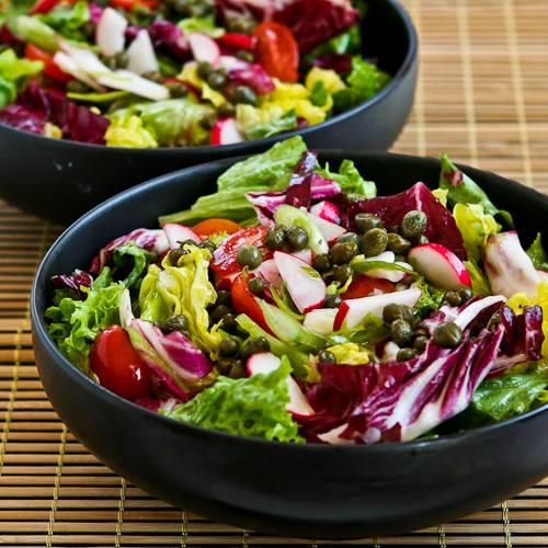 Готовим салат с маслом миндаля