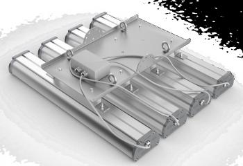 Подвесное крепление для крепления четырех светильников серии Iron 2.0