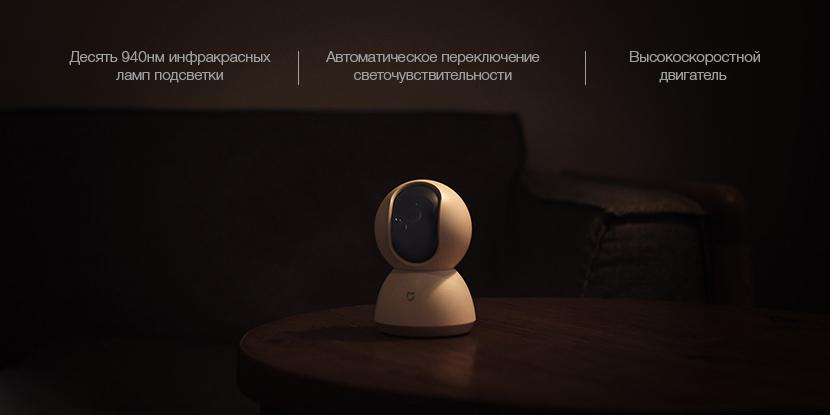 IP-камера Xiaomi MiJia 360° Home Camera с ночным режимом