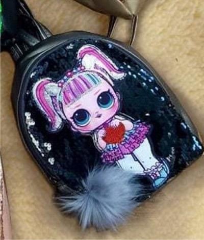 Рюкзак с пайетками LOL Surprise Dolls (светящийся)