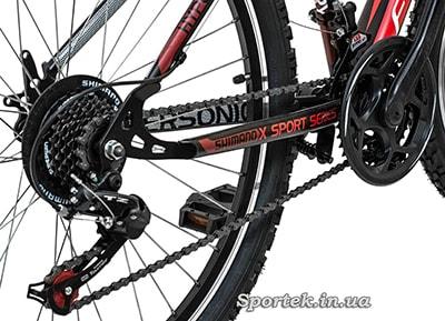 Трансмісія на велосипеді