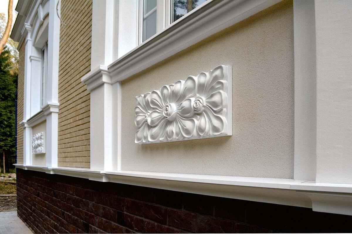 Фасадный декор из ППУ