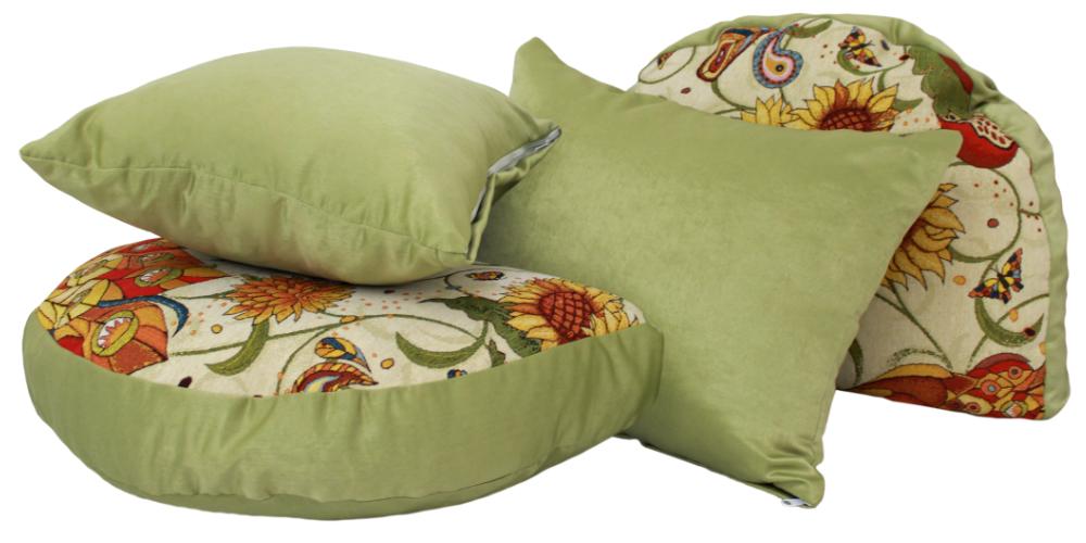 Эгоист зеленый подушки
