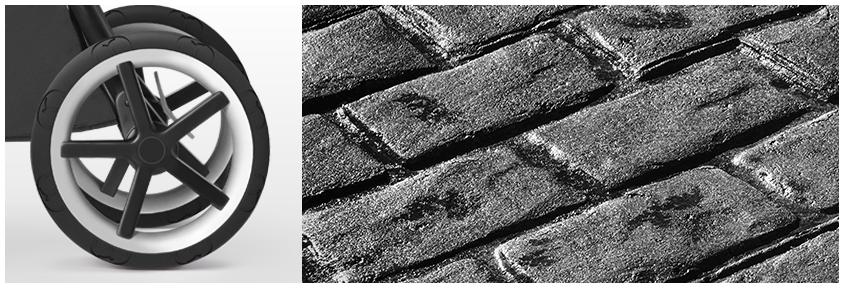 Колеса-внедорожники - для неровных поверхностей