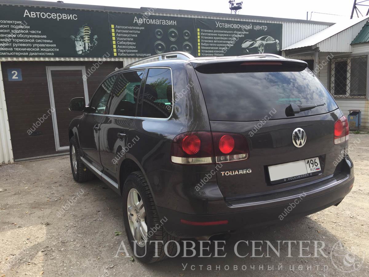 VW Touareg (разнесенный радар NeoLine S300)