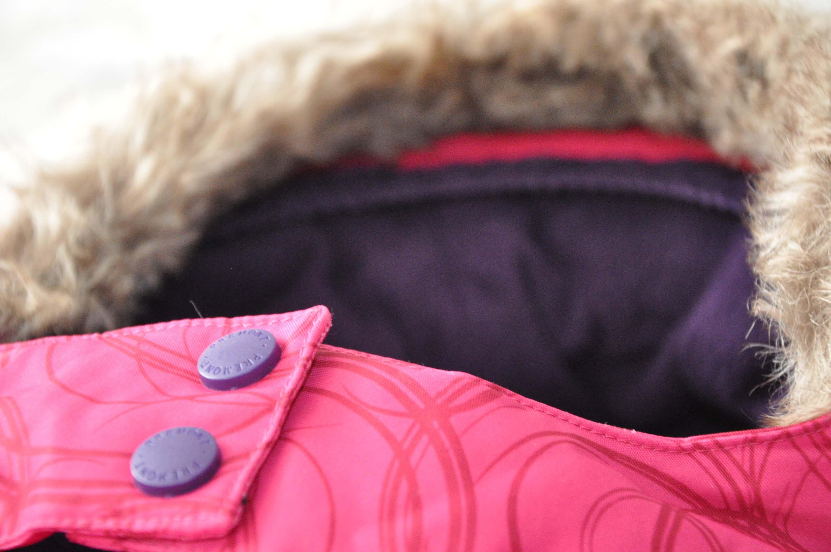 Капюшон на зимней одежде Premont