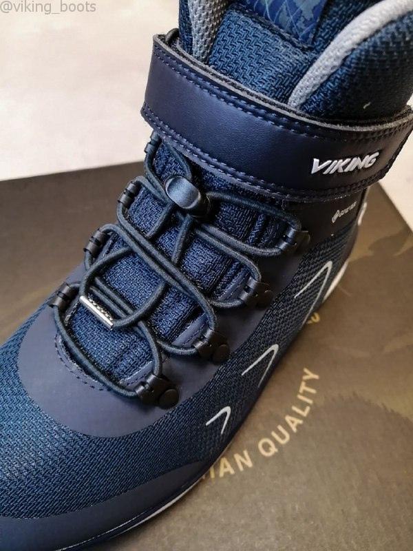 Ботинки Viking Liam GTX купить в темно-синем цвете (сезон 2020-2021) можно с доставкой и примеркой