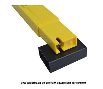Внешний вид pH-метра, вид электрода