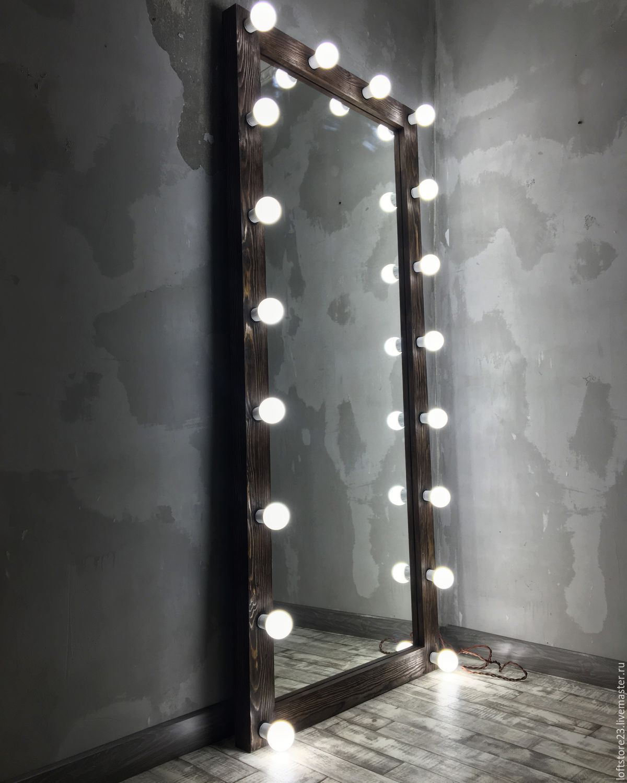 Большие напольные зеркала для магазинов одежды