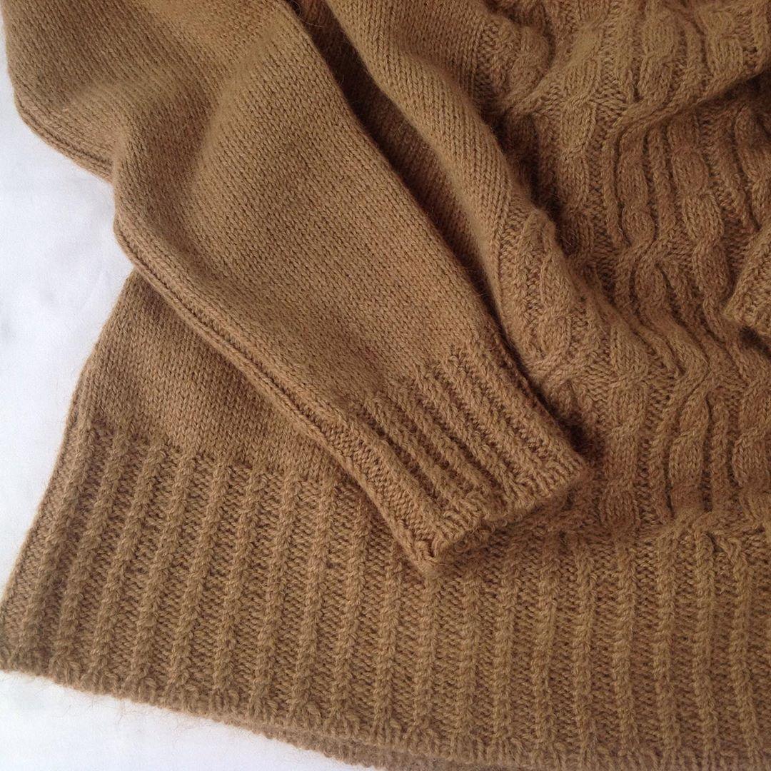 свитер из пуха верблюжонка sarlag