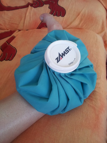 Мешок для льда ZAMST
