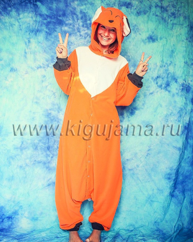 Пижама лиса женская