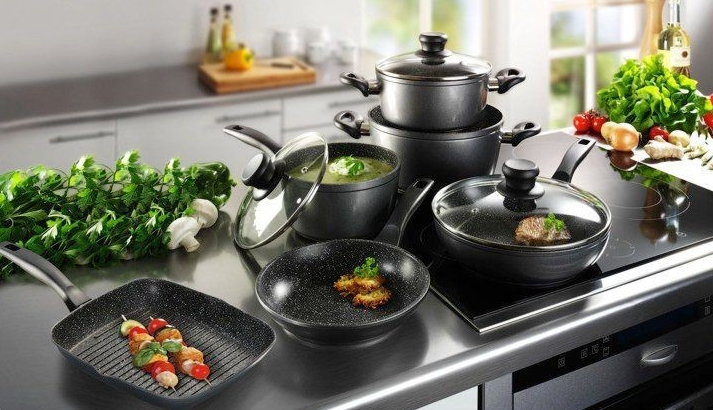 Набор сковородок для кухни