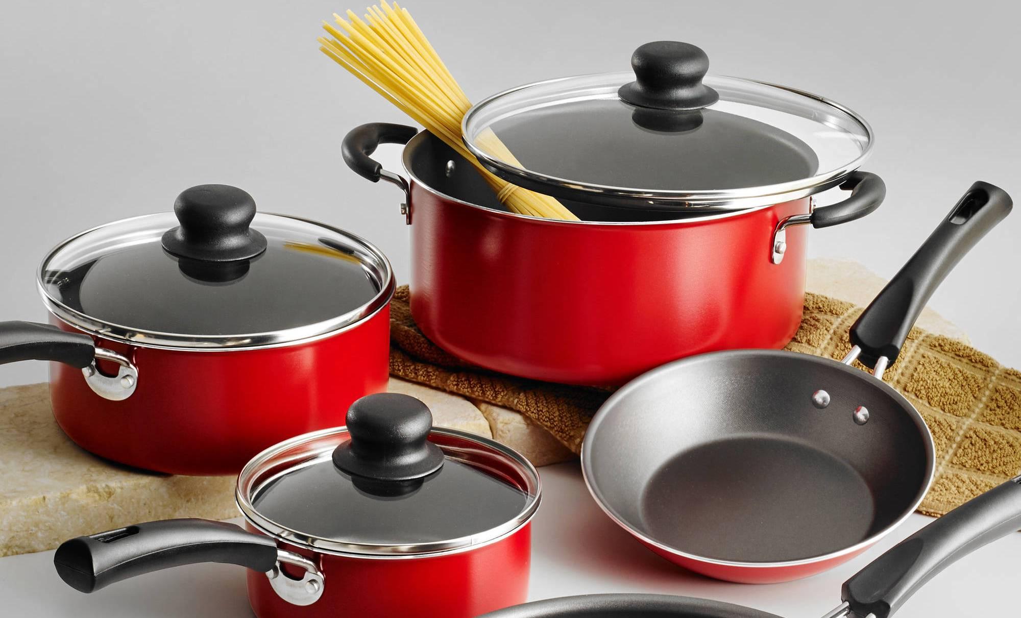 Набор сковородок разных размеров