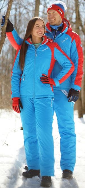 NSW421790 Женский утеплённый прогулочный лыжный костюм Nordski National New skirunner.ru