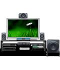 Logitech Z906 удобное управление