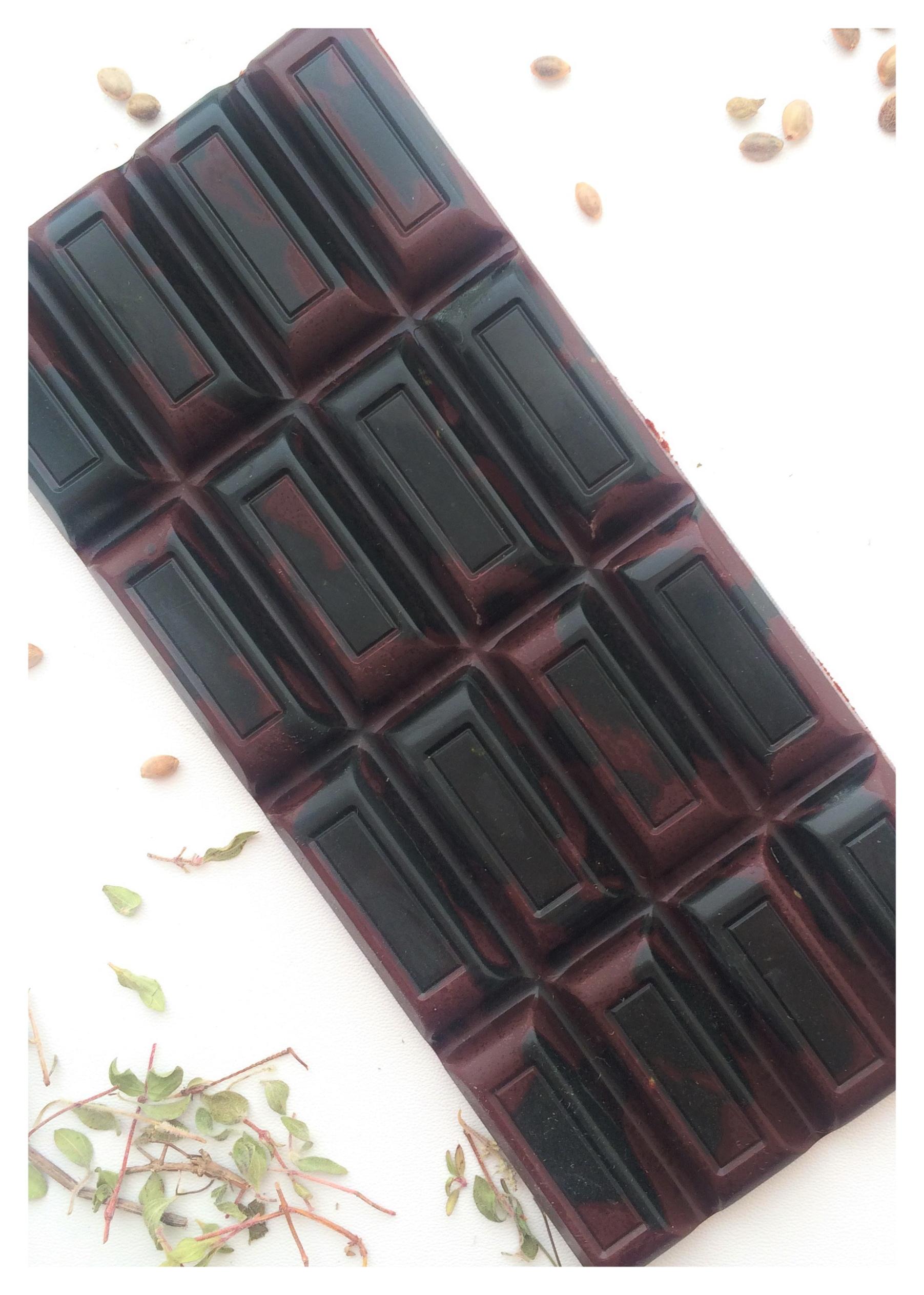 Шоколад цветной спирулина