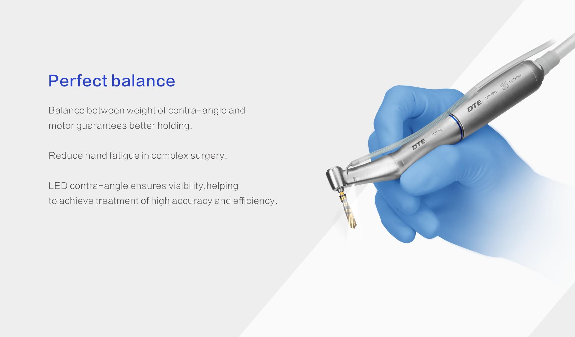 Физиодиспенсер DTE Implant X Описание