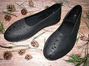 Галоши на обувь мужские черные