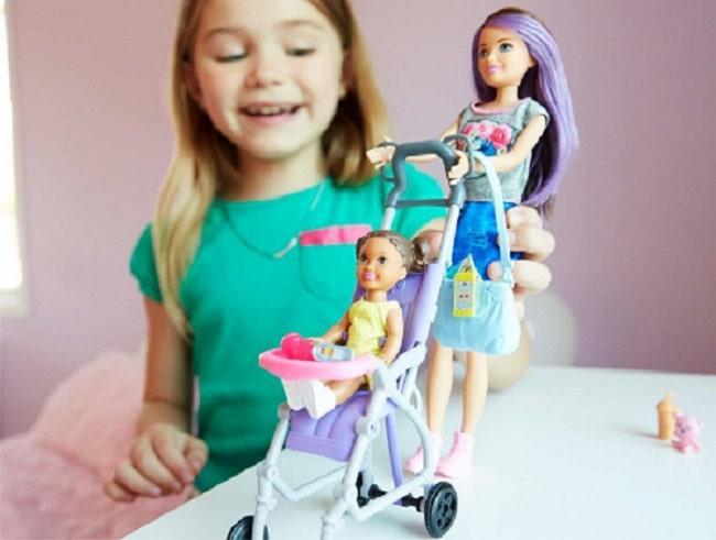 Упаковка набора Barbie Skipper Babysitters Inc