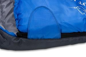 Пата с застежкой-липучкой для более надежной фиксации молнии