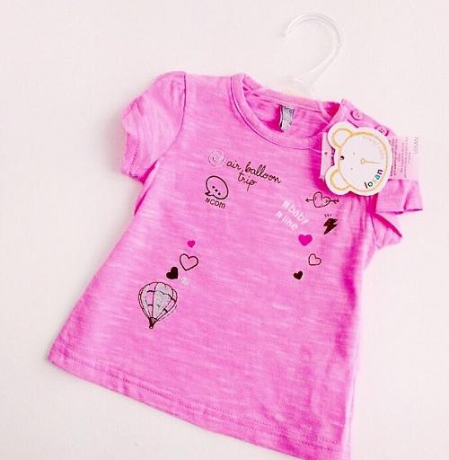 Детская футболка Losan для девочек Free Baby купить в интернет-магазине Мама Любит!