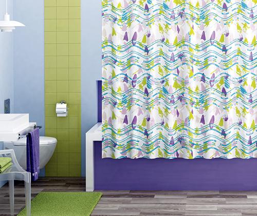 Шторка для ванной тканевая WasserKRAFT Wern