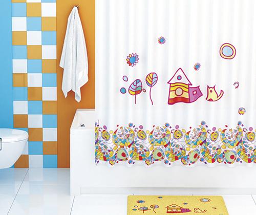Шторка для ванной тканевая WasserKRAFT Kammel