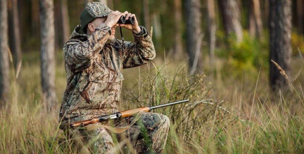 Бинокль на охоте незаменимый помощник, часто определяющий ее результат