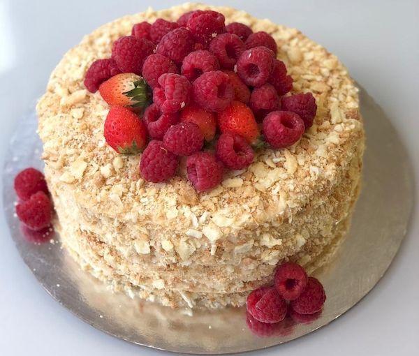 Фото 36. Меренговый торт с кремом Шантильи без глютена