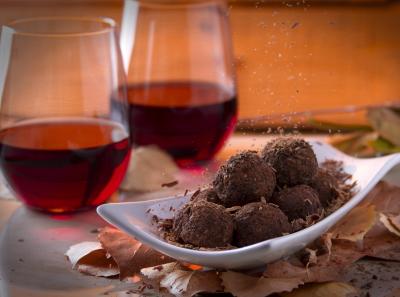 Совиньон и шоколадное печенье