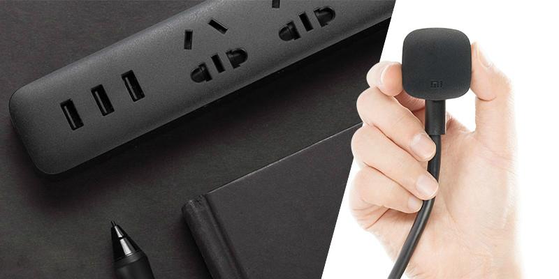 Удлинитель Xiaomi Mi Power Strip (3 розетки+3 USB, белый)