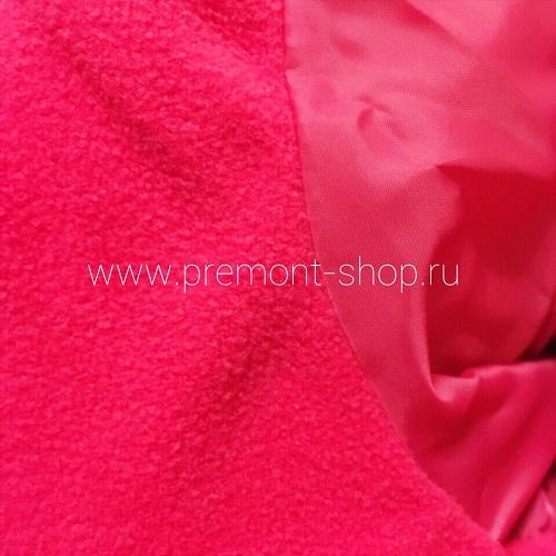 Подкладка из флиса и таффеты на пальто Premont