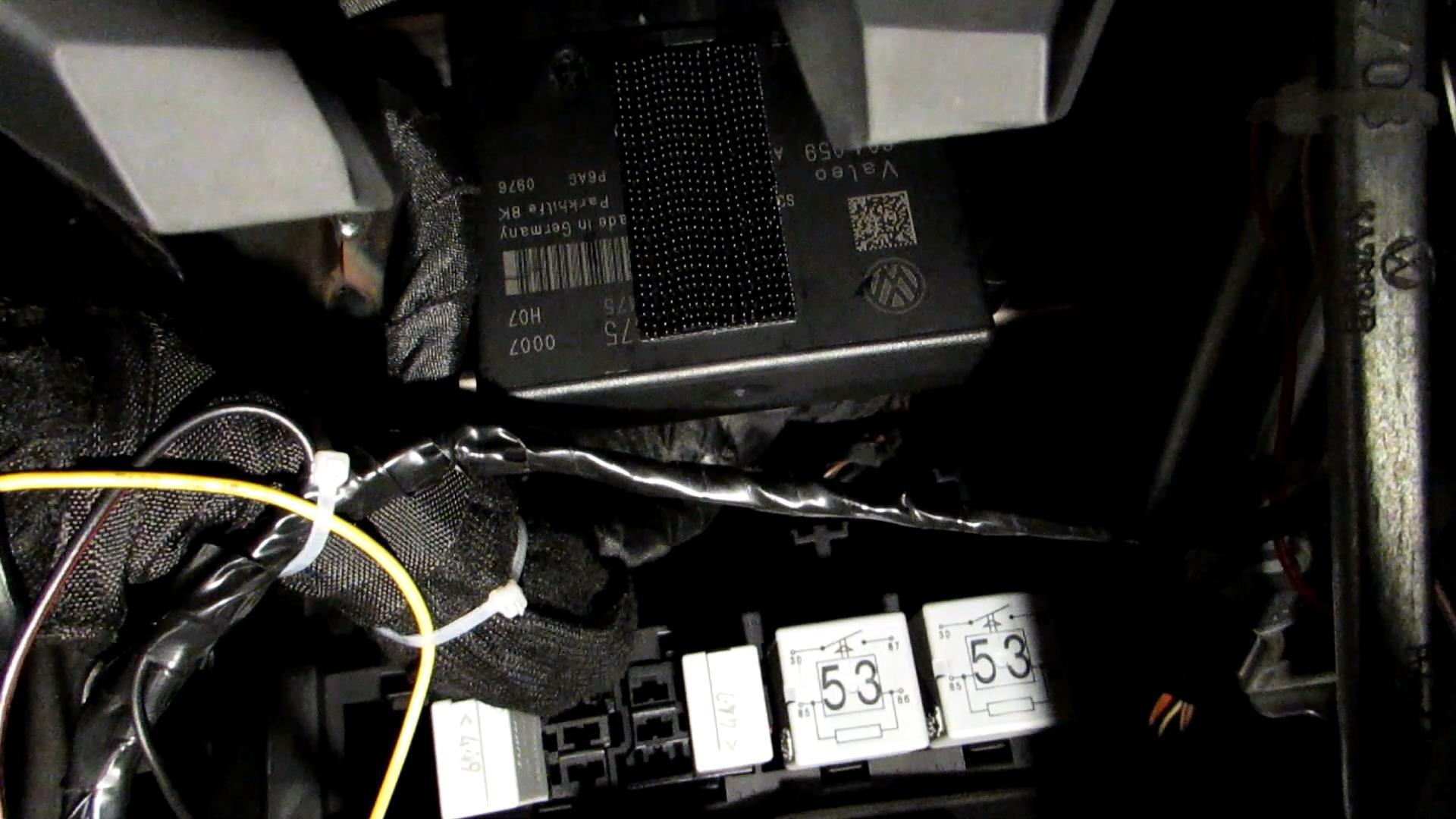 Отчет по дооснащению VW Passat B6 GSM-модулем ALTOX WBUS-4 30