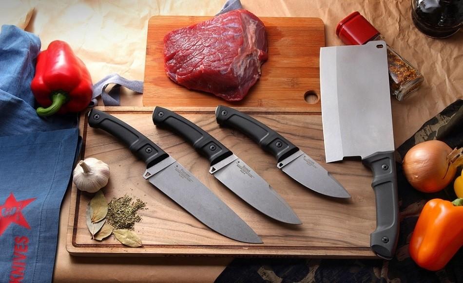 Наборы разделочных ножей