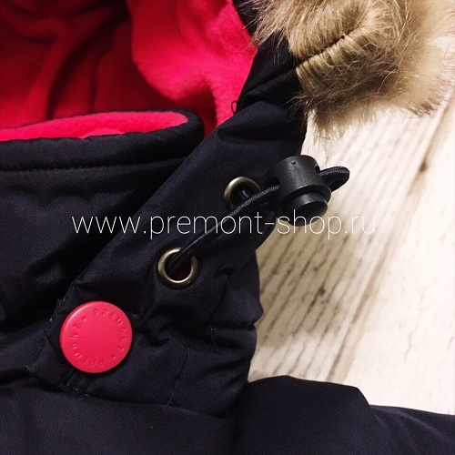 Утяжка на капюшоне пальто Premont Квилт