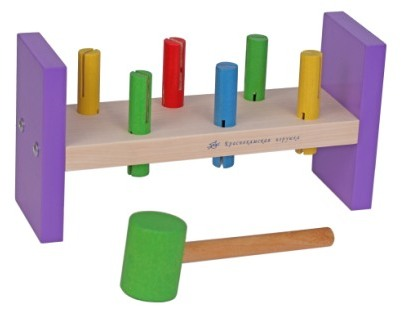 деревянные игрушки стучалки