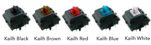 Переключатели Kailh