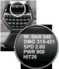 High-visibility GamePanel™ LCD