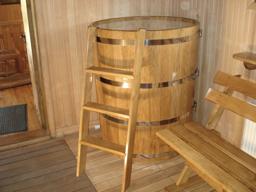 Установка деревянных купелей в Сочи